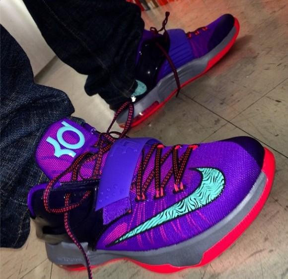 reputable site 0e6c7 414a8 Nike KD 7  Cave Purple  - Quick Look + Release Info