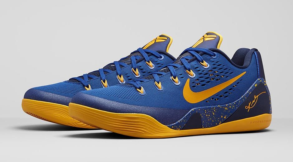 dda3db441b4d Nike Kobe 9 EM  Gym Blue  - Release Information - WearTesters