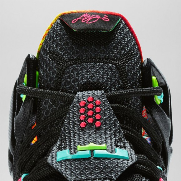 pretty nice e7394 801a5 Nike LeBron 12  Data  – Official Look + Release Info 9