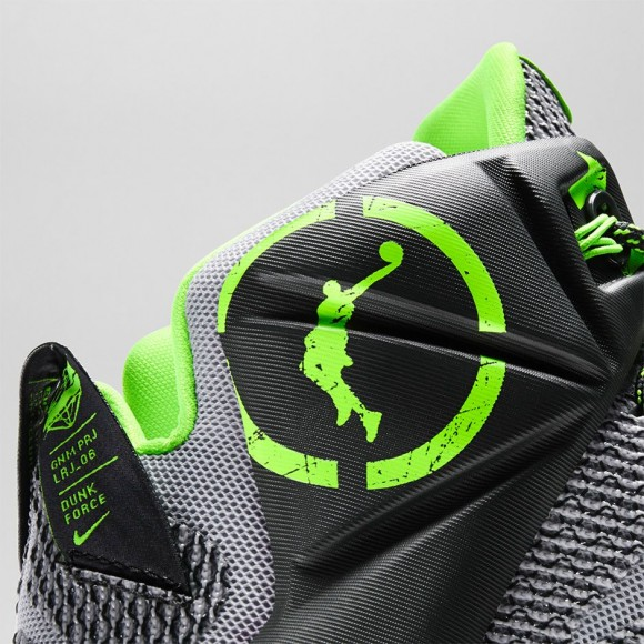 hot sale online 570ac 48ff6 ... Nike LeBron 12  Dunk Force  - Official Look + Release ...