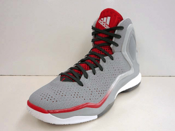 on sale b6ad5 c8b41 ... free shipping adidas d rose 5 boost onyx scarlet detailed look 1 3f067  922e7