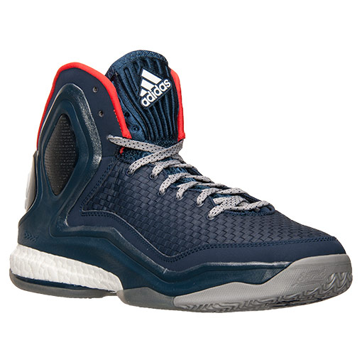 new style 57c01 9a636 adidas D Rose 5  Woven Blues  - Available ...