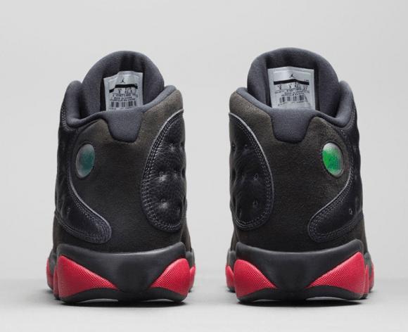 0562108f0cdade ... Air Jordan 13 Retro Black Gym Red - Official Look + Release Info 4 ...