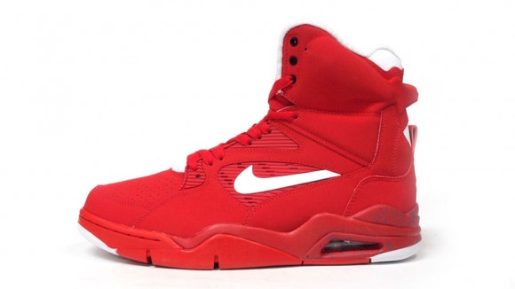 8ecf72540d4 Nike Air Command Force Red  White  Black - WearTesters