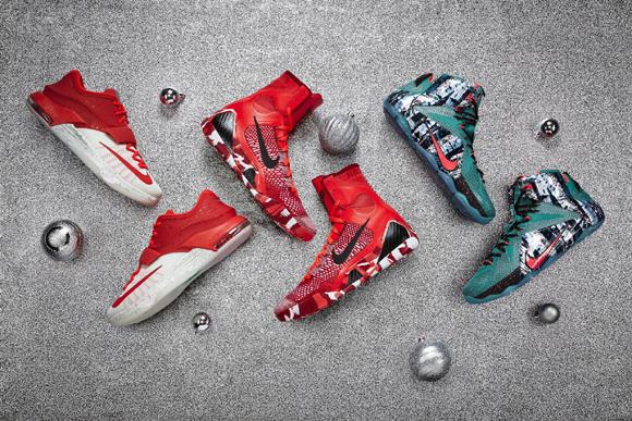 premium selection 1e5a4 6ab40 Nike Basketball Debuts the 2014 Christmas Collection - WearTesters