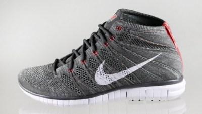 1184570ae69 Nike Free Flyknit Chukka Midnight Fog  Bright Crimson – First Look