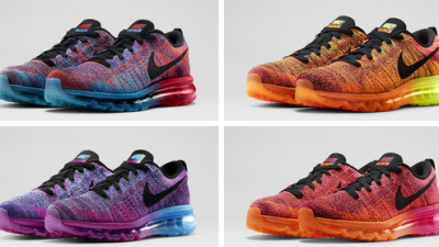 sale retailer c085a c04f6 Nike Flyknit Air Max – 4 New Colorways Available Now