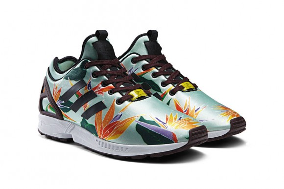 adidas originals zx flux floral