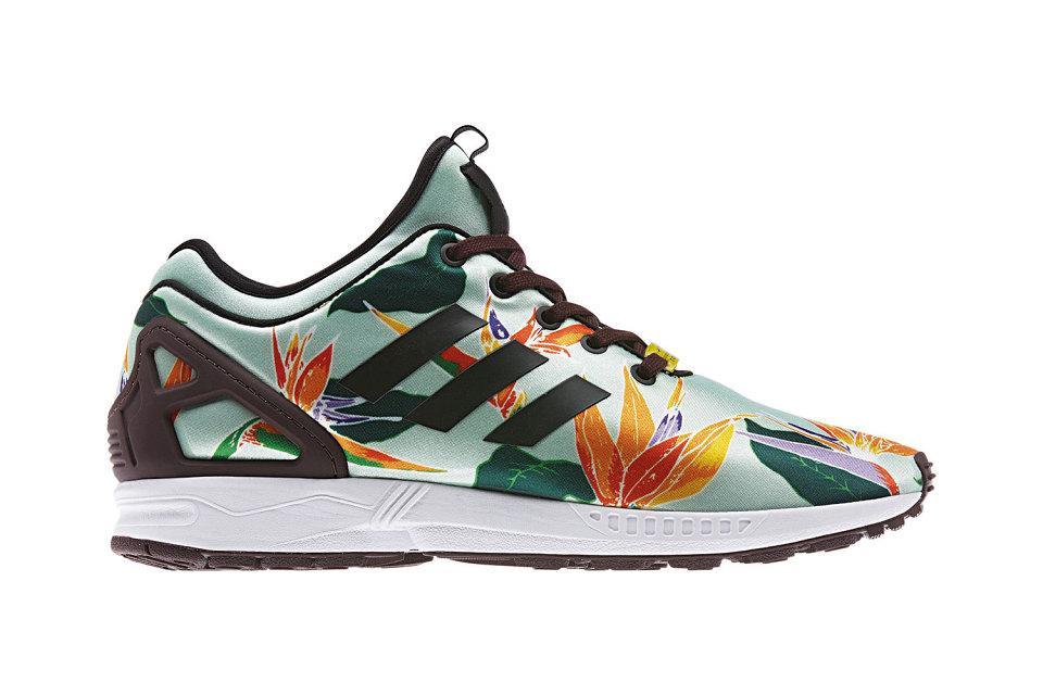 7c2692939 ireland adidas originals zx flux nps neoprene floral print e0a5d c1634