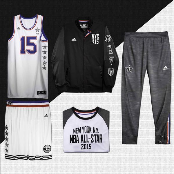 adidas Unveils 2015 NBA All-Star Game Uniforms - WearTesters a5088513c9a9