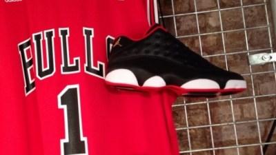 15a5058575a Air Jordan 13 Retro Low Black  White – Red