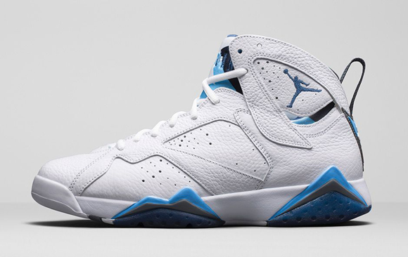 half off b69a6 ef678 Air Jordan 7 Retro  French Blue  - Official Look + Release ...