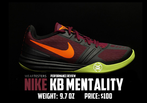 new concept 1be43 0ef9e Nike KB Mentality Performance Review - WearTesters
