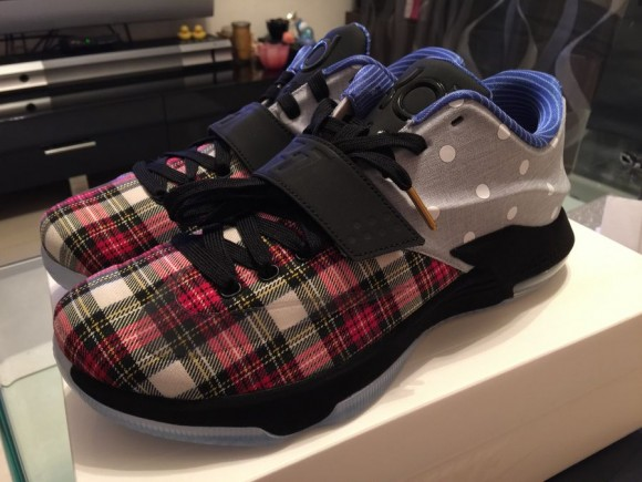 new products b9c43 de44f Nike KD 7 EXT CNVS QS - First Look 1 ...