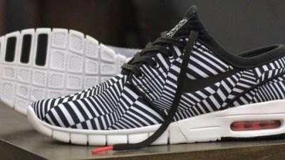 pretty nice 8fec5 8be7f Nike SB Stefan Janoski Max  Dazzle  – First Look