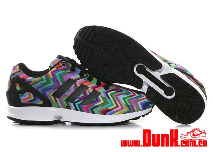 watch 3478a c1620 Adidas Zx Flux Multicolor Adidas Zx Flux Prism Sole