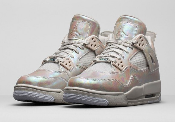 Girls Air Jordan 4 Retro 'Pearl'