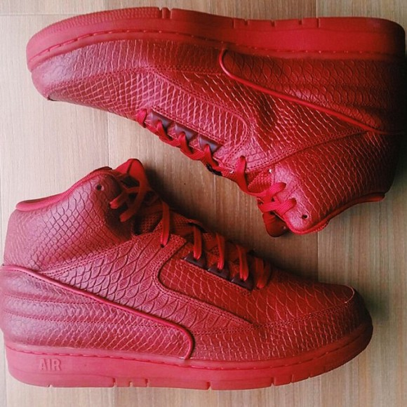 918fb14c81ba Nike Air Python  All-Red  - WearTesters