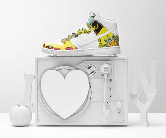 new york c290d fc1fe Nike Dunk High Premium SB  De La Soul  - Release Information ...