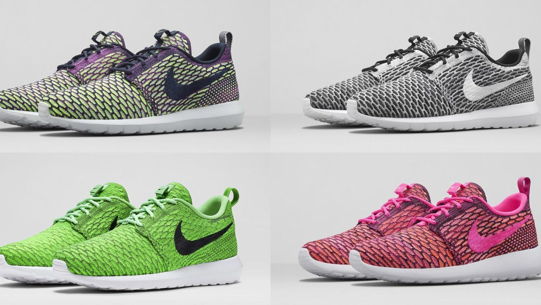 new product 7cedc cb8c0 Nike Flyknit Roshe Run - Multiple Colorways Available Now - WearTesters