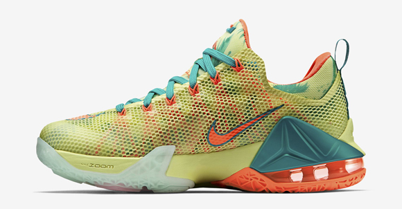 07353b3027f6 ... Nike LeBron 12 Low  LeBronold Palmer  - Detailed Look + Release ...