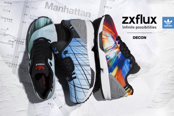 adidas ZX Flux Decon 'NYC' Pack Available Now WearTesters