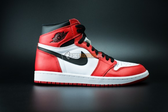 fcfe1498ebe5dd Air Jordan 1 Retro  Chicago  Remastered – Another Look - WearTesters