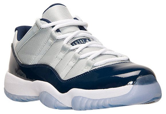 cf2144b7a53c74 Air Jordan 11 Retro Low  Georgetown  Prepares to Launch - WearTesters