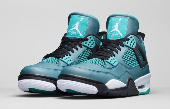 c5baab3620b Air Jordan 4 Retro  Teal  - Official Look + Release Info - WearTesters