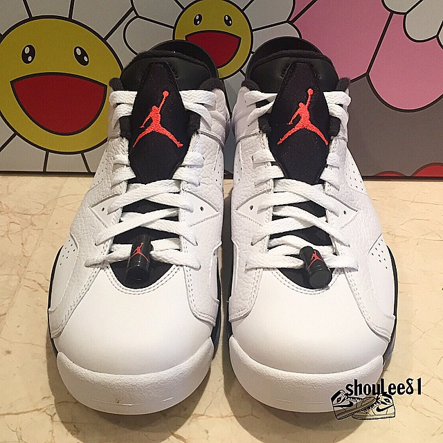new product 304ee 5dc4b ... Detailed Look at The Air Jordan 6 Retro Low in Infrared 3 ...