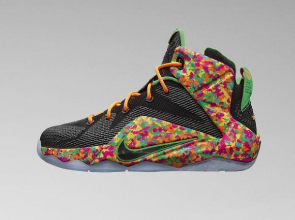 96d213a45e05 Kid s Nike LeBron 12  Fruity Pebbles  - Available Now - WearTesters