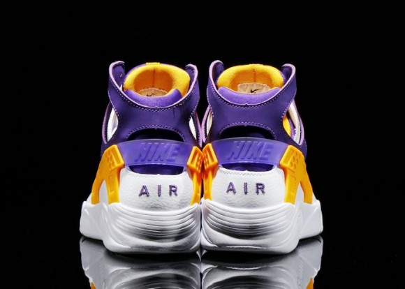 purchase cheap f8ee3 db91e Nike Air Flight Huarache Los Angeles Lakers 3