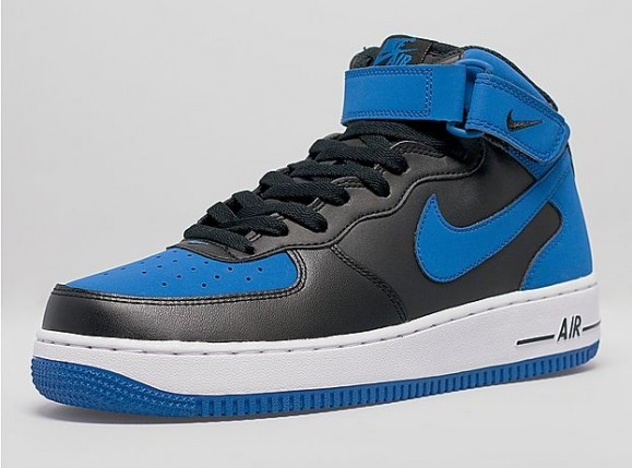 pretty nice 012af a877b ... Nike Air Force 1 Mid  Royal