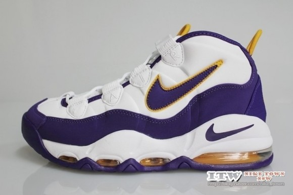0c6f9ef83aa Nike Air Max Uptempo  Lakers  - Detailed Look - WearTesters