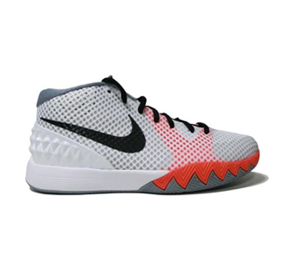 best sneakers 605aa e5081 Nike Kyrie 1 GS White  Orange - Grey - WearTesters