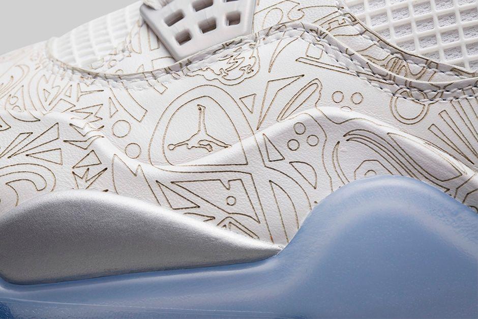 lowest price 43530 9bae5 Air Jordan 4 Retro  Laser  - Official Look   Release Info - WearTesters