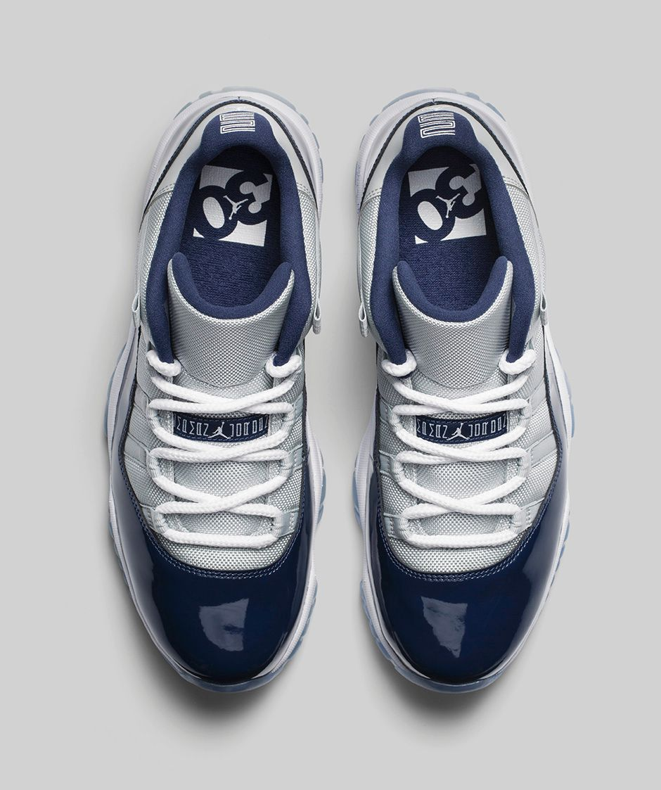 timeless design f9b04 7c7b3 ... Air Jordan 11 Retro Low  Georgetown  Grey Mist  ...