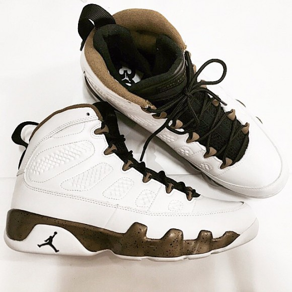 premium selection 83ab6 f710a ... Air jordan 9 Retro  Military Green