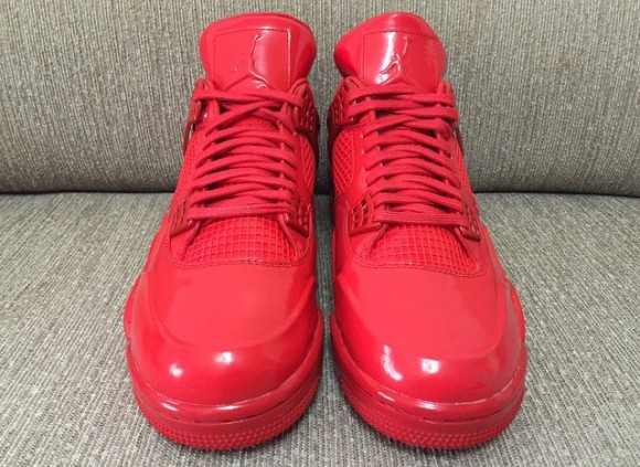 All-Red Air Jordan 11Lab4 Retro 6