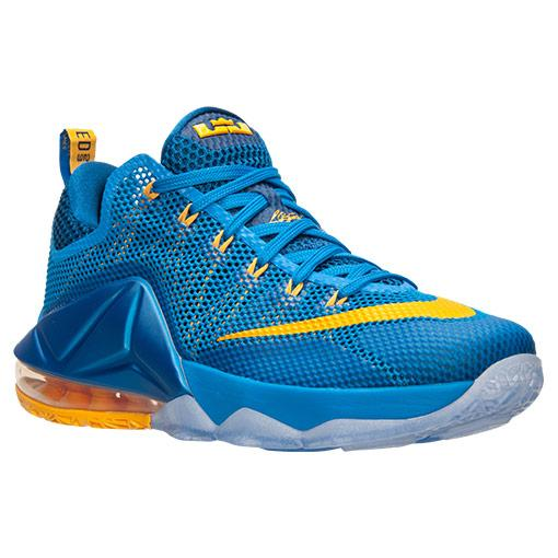 b4866c39fa41f Nike LeBron 12 Low  Photo Blue  - WearTesters