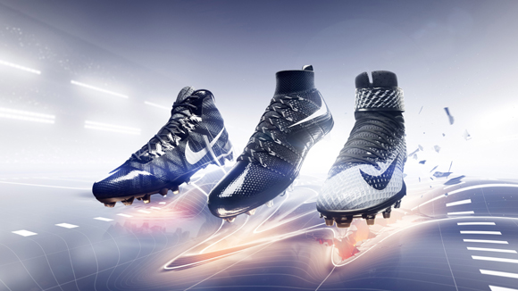 c13226de9ea Nike Football Unveils New Cleat Lineup Ahead of The NFL Draft ...