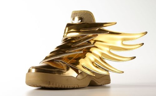 Adidas Originals JS Wings' weartesters oro metalico '