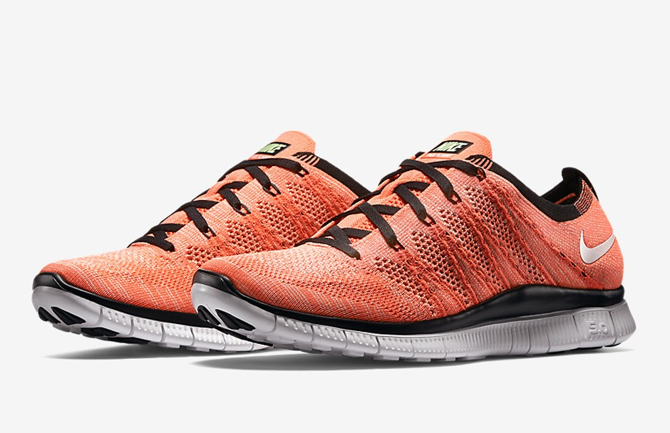 53698035bc22 First Look at the Nike Free Flyknit  Hot Lava  - WearTesters