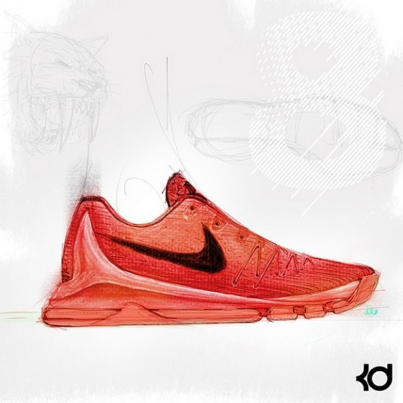 19acabed8061 Kevin Durant Teases The Nike KD 8 - WearTesters