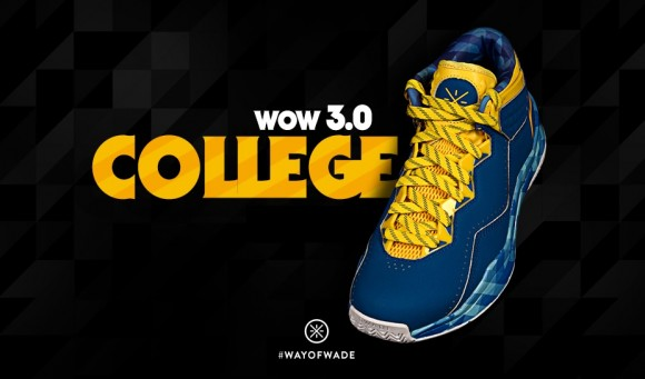 designer fashion 10d4e b077d Li-Ning Way of Wade 3  College  - Available at SunlightStation ...