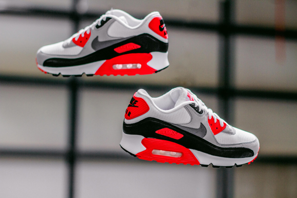 new concept 95923 35828 Nike Air Max 90  Infrared  ...