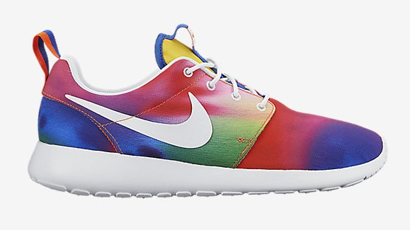 pretty nice ef284 f9a4c Nike Roshe One  Rainbow Tie Dye  lateral ...