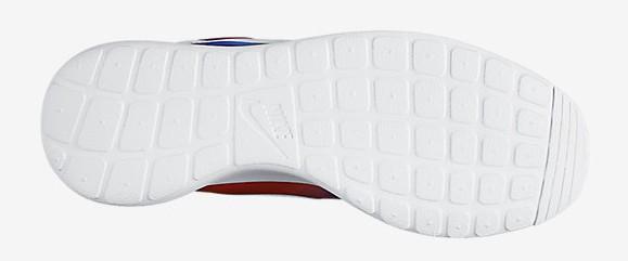 Nike Roshe One 'Rainbow Tie Dye' outsole bottoms