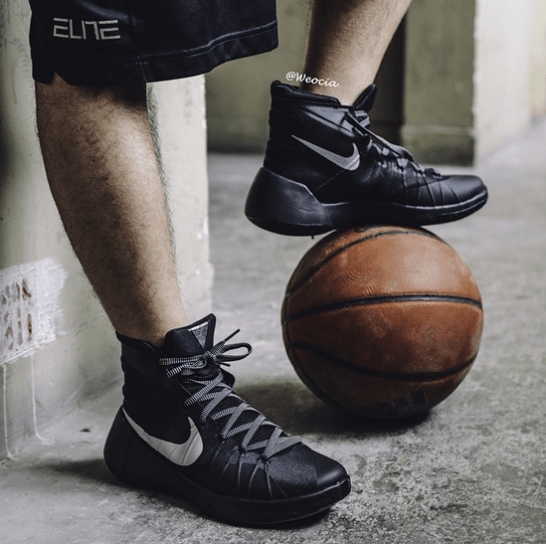 check out 5fa1a 9159d The Nike Hyperdunk 2015 Gets an On-Foot Look 1