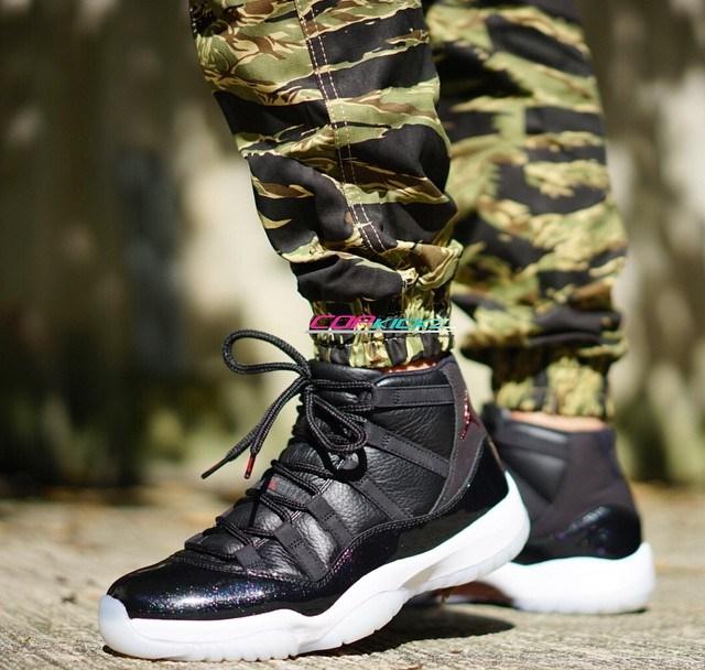 02dec9ba6377af On-Feet Look of the Air Jordan 11 Retro  72-10  - WearTesters